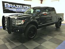 2014_Ford_F-150_Platinum, 4x4, Leveling Kit, Fuel Wheels, BFGs_ Houston TX