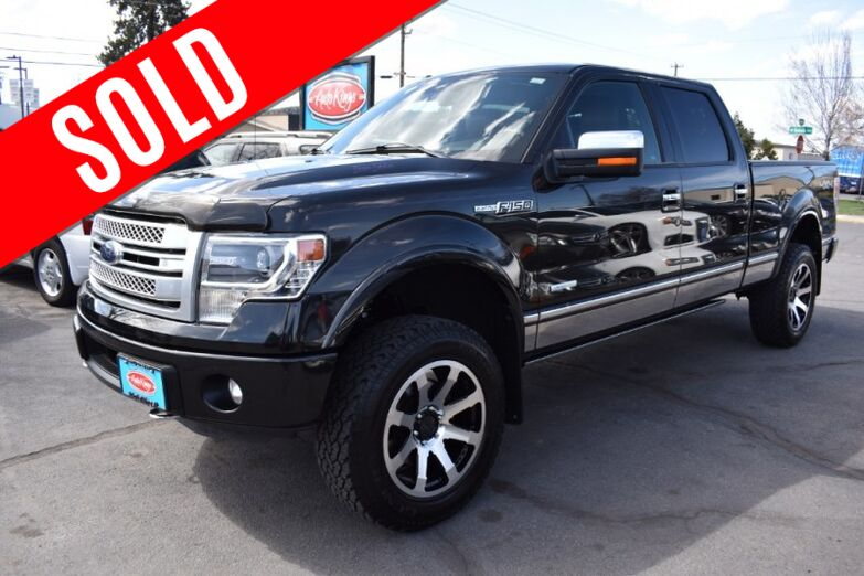 2014 Ford F-150 Platinum 4x4 SuperCrew Bend OR