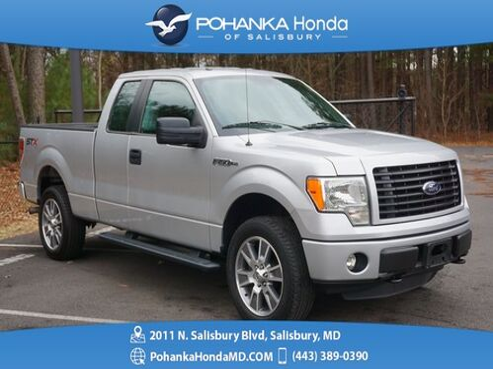 2014_Ford_F-150_STX ** 4X4 ** SUPER CAB ** 5.0 V8 ** BEST MATCH **_ Salisbury MD