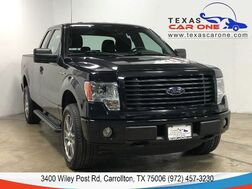 2014_Ford_F-150_STX SUPERCAB 4WD AUTOMATIC RUNNING BOARDS ALLOY WHEELS TOW HITCH_ Carrollton TX