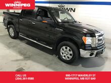 2014_Ford_F-150_SuperCrew 145 XLT/Local trade/Low kms_ Winnipeg MB