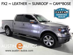 2014_Ford_F-150 SuperCrew FX2_*BACKUP-CAMERA, TOUCH SCREEN, LEATHER, MOONROOF, CLIMATE SEATS, 20 INCH WHEELS, SONY AUDIO, BLUETOOTH_ Round Rock TX