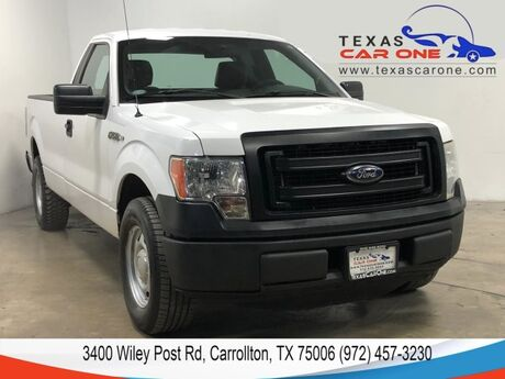 2014 Ford F-150 XL REGULAR CAB LONG BED AUTOMATIC LEATHER SEATS CRUISE CONTROL T Carrollton TX