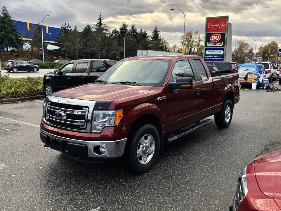 2014 Ford F-150 XLT   Double Cab   6.5' Bed   Backup Cam Coquitlam BC