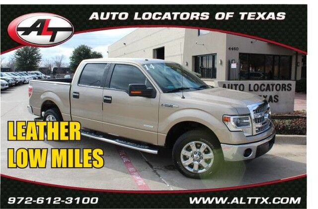 2014 Ford F-150 XLT with LEATHER Plano TX