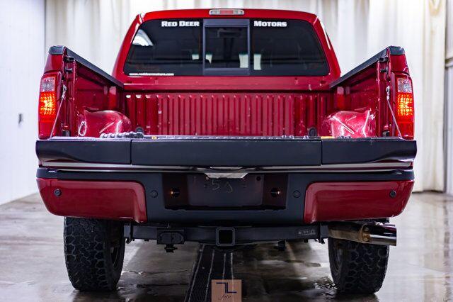 2014 Ford F-350 4x4 Crew Cab Platinum Diesel Leather Roof Nav Red Deer AB