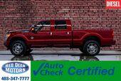 2014 Ford F-350 4x4 Crew Cab Platinum Diesel Leather Roof Nav