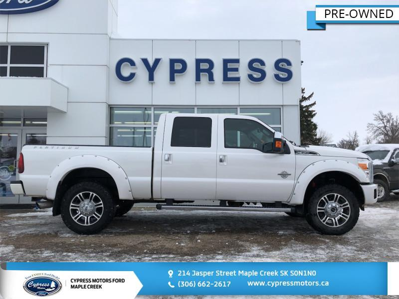 2014 Ford F-350 Super Duty Platinum-Moonroof, Exhaust Delete Maple Creek SK