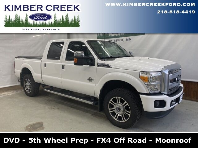 2014 Ford F-350SD Platinum Pine River MN
