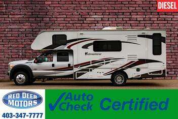 2014_Ford_F-450_4x4 Crew Cab 29SD Quad Adventurer Diesel_ Red Deer AB