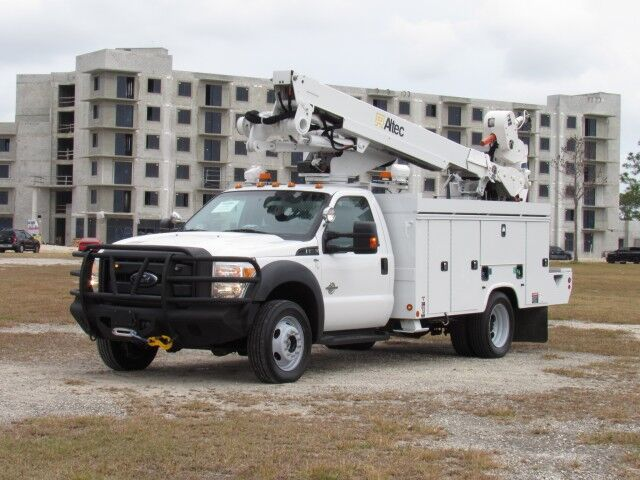 2014 Ford F-550XL Altec AT40M Bucket Truck Homestead FL