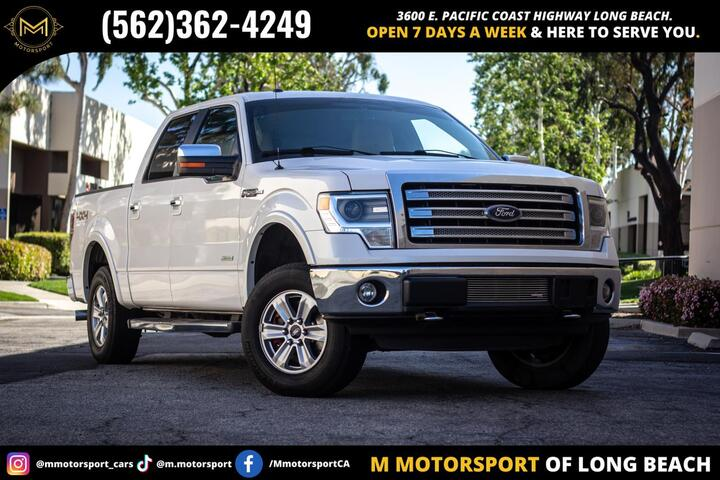 2014 Ford F150 SuperCrew Cab Lariat Pickup 4D 5 1/2 ft Long Beach CA