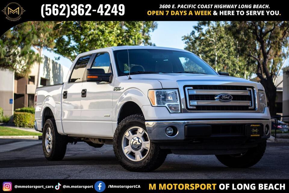 2014_Ford_F150 SuperCrew Cab_XLT Pickup 4D 6 1/2 ft_ Long Beach CA