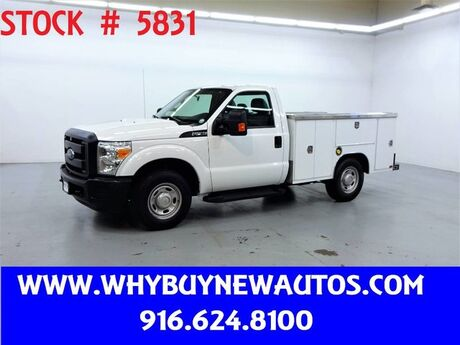 2014 Ford F250 Utility ~ Only 64K Miles! Rocklin CA