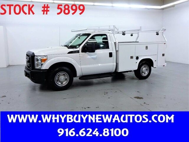 2014 Ford F250 Utility ~ Only 73K Miles! Rocklin CA