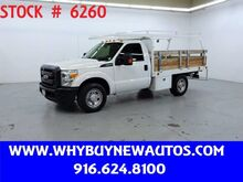2014_Ford_F350_~ 10ft. Flat Bed ~ Only 56K Miles!_ Rocklin CA