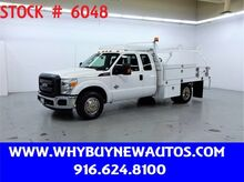 2014_Ford_F350_~ Diesel ~ Ext. Cab ~ 9ft. Contractor Bed ~ Only 59K Miles!_ Rocklin CA