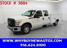 2014_Ford_F350_Utility ~ Crew Cab ~ Only 34K Miles!_ Rocklin CA