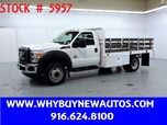 2014 Ford F550 ~ Diesel ~ 12ft Stake Bed ~ Only 55K Miles!