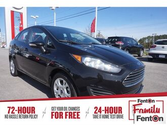 2014_Ford_Fiesta_SE_ Knoxville TN