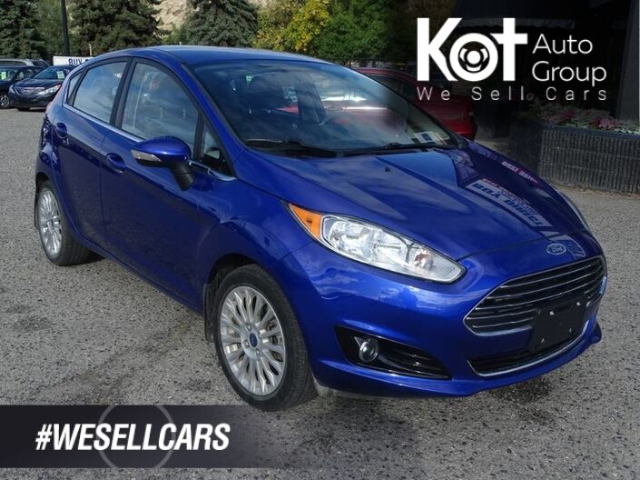 2014 Ford Fiesta Titanium, Heated Seats, Bluetooth, SXM Radio Penticton BC