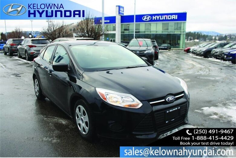 2014 Ford Focus S No Accident Kelowna BC