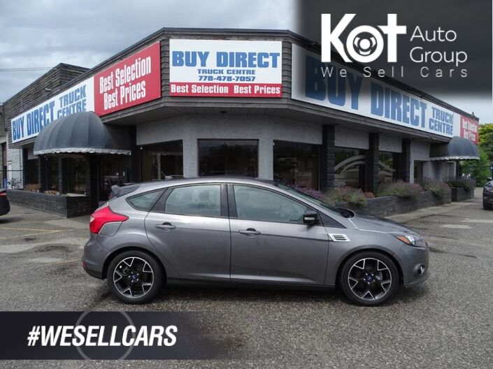 2014 Ford Focus SE, Hatchback, Heated Seats, Back-Up Camera Kelowna BC