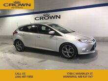 2014_Ford_Focus_SE **Heated Leather Seats** Sunroof** Alloy Rims** Fog Lights** With a Great Service History**_ Winnipeg MB