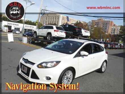 2014_Ford_Focus_Titanium Hatchback_ Arlington VA