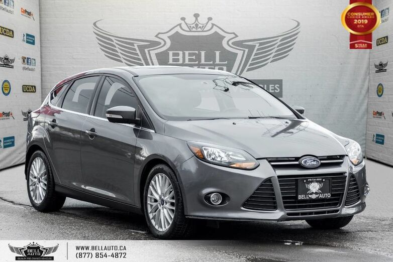 2014 Ford Focus Titanium, NAVI, BACK-UP CAM, SUNROOF, LEATHER Toronto ON