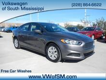 2014_Ford_Fusion_S_ South Mississippi MS
