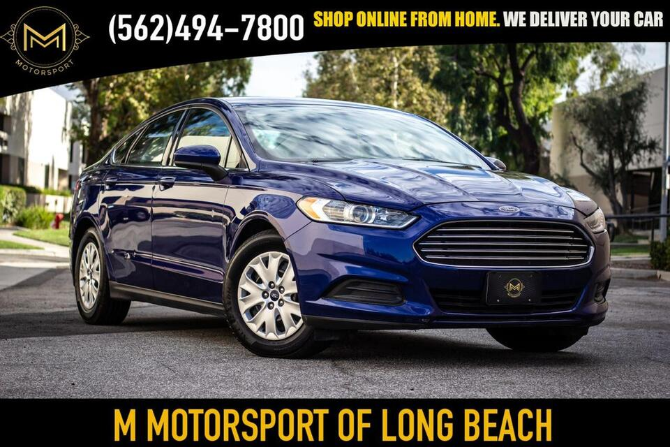 2014_Ford_Fusion_S Sedan 4D_ Long Beach CA
