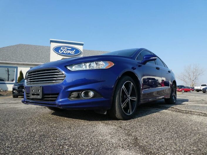 2014 Ford Fusion SE- LEATHER- NAVIGATION- BACKUP CAM- HEATED SEATS Essex ON