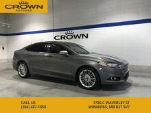 2014_Ford_Fusion_SE AWD **LEATHER SEATS** NAVIGATION** POWER SUNROOF**_ Winnipeg MB