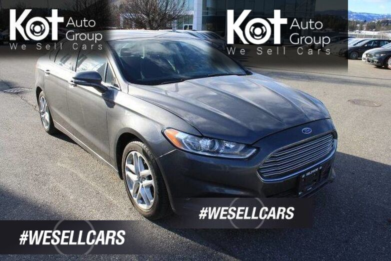 2014 Ford Fusion SE BLUETOOTH! POWER OPTIONS! POWER DRIVERS SEAT!. Kelowna BC