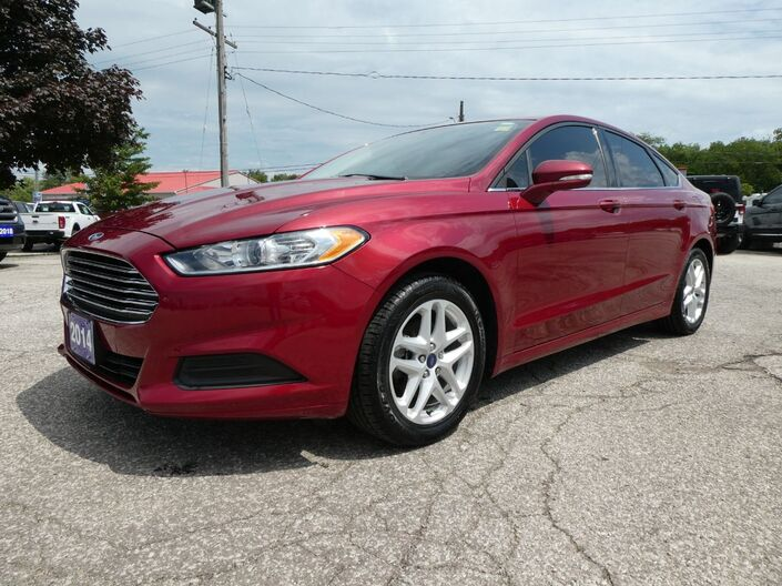 2014 Ford Fusion SE Bluetooth Low KM Alloy Wheels Essex ON