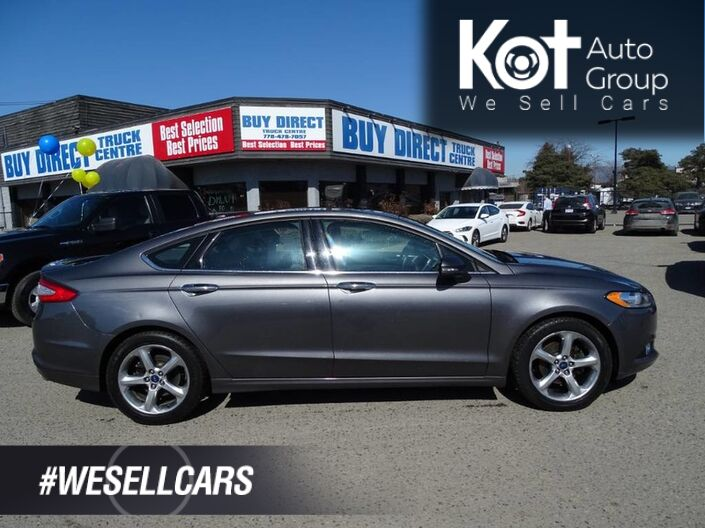 2014 Ford Fusion SE Sunroof, Great Safety Features! No Accidents Kelowna BC