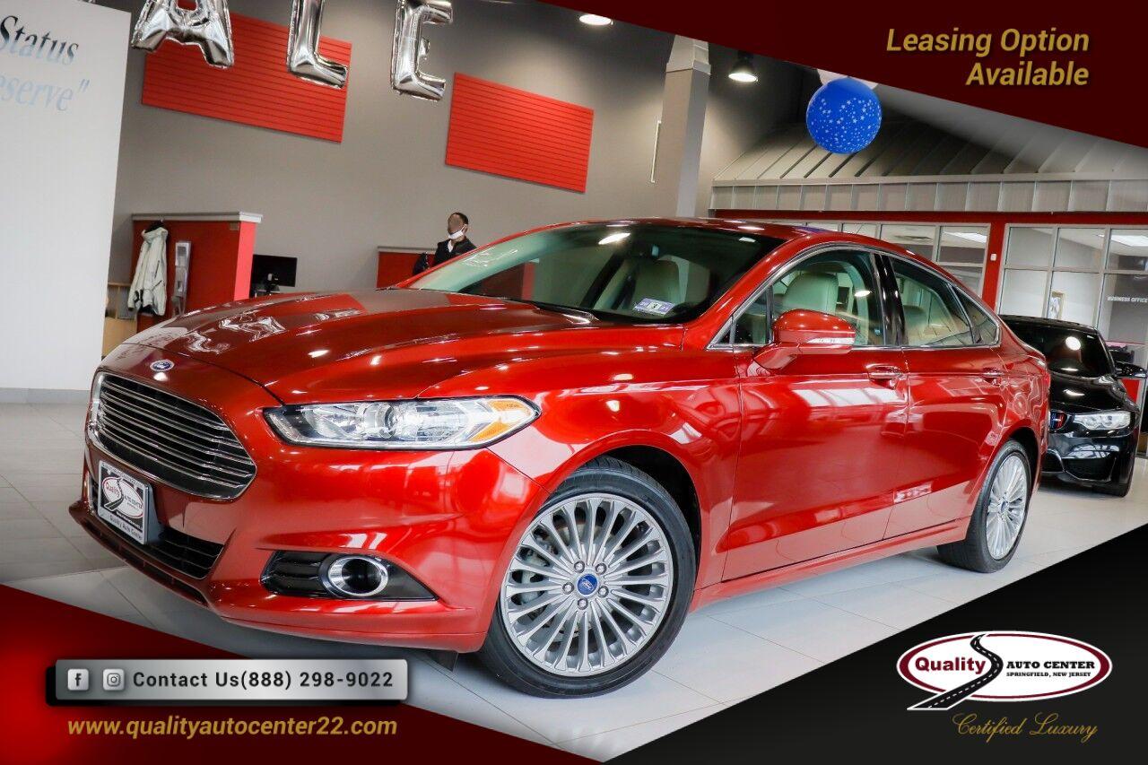 2014 Ford Fusion Titanium Navigation AWD Springfield NJ