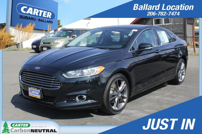2014 Ford Fusion Titanium Seattle WA