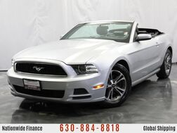 2014_Ford_Mustang_3.7L V6 Engine Premium Soft Top Convertible RWD_ Addison IL
