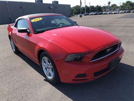 2014 Ford Mustang CONVERTIBLE V6 Evansville IN