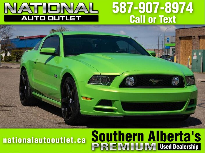 2014 Ford Mustang GT - 5 .0 LT COYOTE ENGINE - PERFORMANCE EXHAUST Lethbridge AB