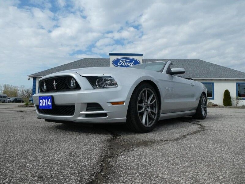 2014 Ford Mustang GT- CONVERTIBLE- LEATHER- NAV- HEATED SEATS- AUTO Essex ON