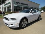 2014 Ford Mustang GT Coupe 6-SPEED MANUAL, CLOTH SEATS, BLUETOOTH, SAT RADIO, AUX INPUT, CD PLAYER, CRUISE