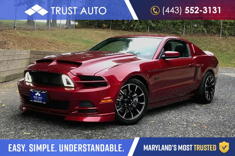 2014 Ford Mustang GT Premium 5.0L V8 Supercharged 2-Door Sport Coupe 6-Speed Manual