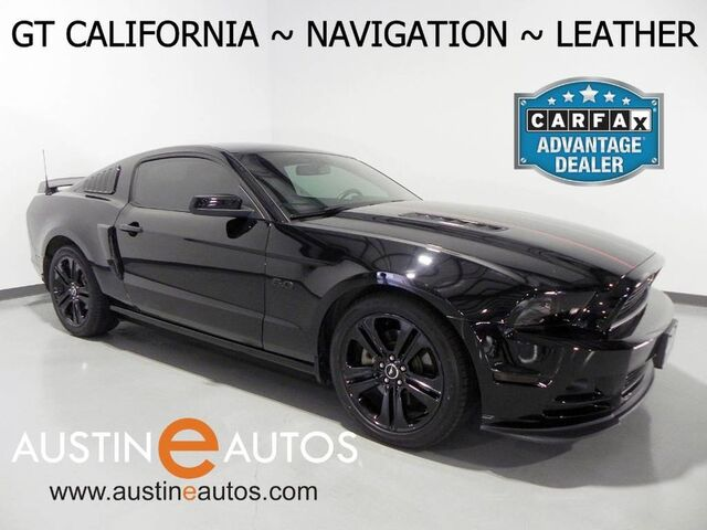 2014 Ford Mustang GT Premium *NAVIGATION, GT CALIFORNIA PKG, TOUCH SCREEN, LEATHER, HEATED SEATS, BLACK ALLOYS, SPOILER, SHAKER AUDIO, BLUETOOTH Round Rock TX