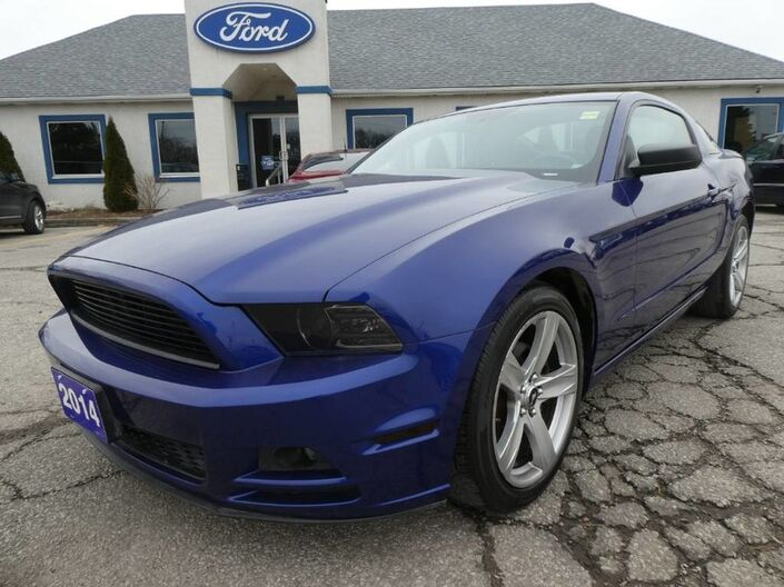 2014 Ford Mustang V6 Premium - MANUAL - LOW KM Essex ON