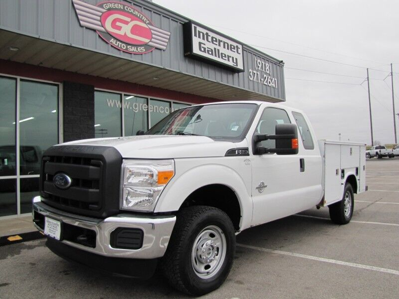 2014 Ford Super Duty F-250 4x4 Diesel Utility XL Collinsville OK