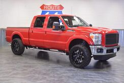 2014_Ford_Super Duty F-250 SRW_4WD! DIESEL! LIFTED! CUSTOM 22'' FUEL WHEELS! LARIAT! LEATHER LOADED! LOW MILES!_ Norman OK