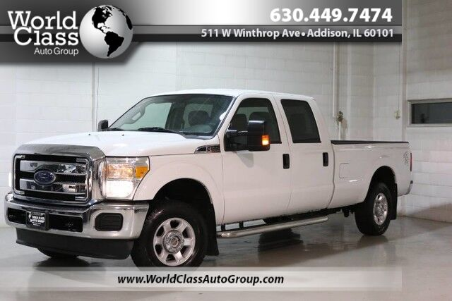 2014 Ford Super Duty F-250 SRW XLT - AWD CREW CAB ALLOY WHEELS Chicago IL